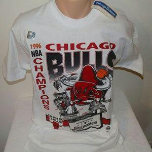 Vintage Chicago Bulls 96 Championship Tee NWT